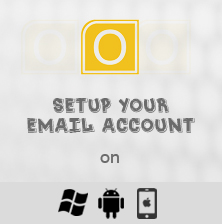 Set up your email account